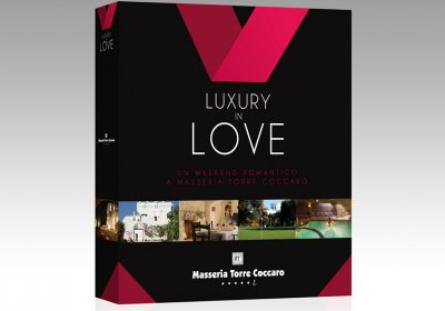 LUXURY IN LOVE GIFT BOX 1 NOTTE CENA & MASSAGGIO € 120